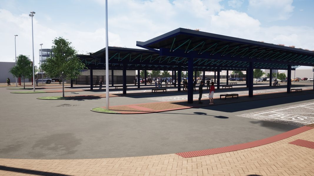 terminál Šumperk - hlavní nástupiště vizualizace: zdroj: mus