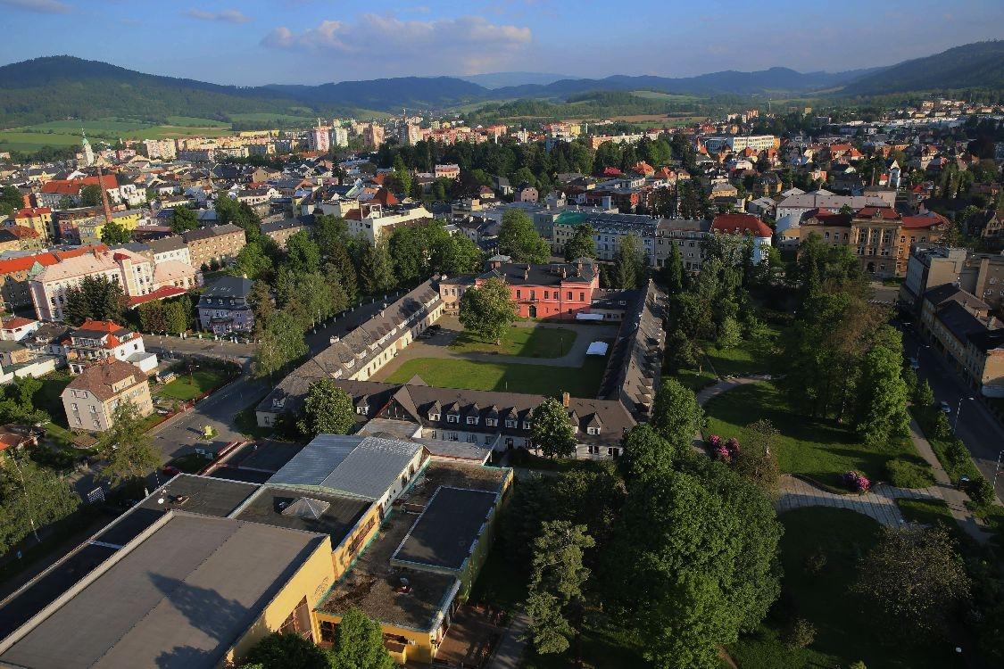 Šumperk - částečný pohled na DK v centru města foto: archiv sumpersko.net - M. Jeřábek