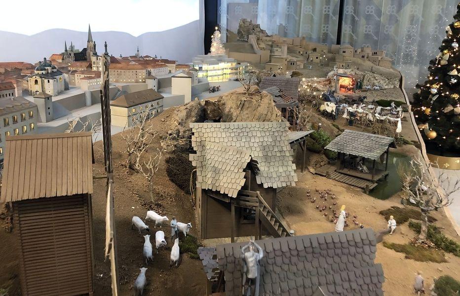 Unikátní mechanický betlém v Olomouci zdroj foto: J. Aláč