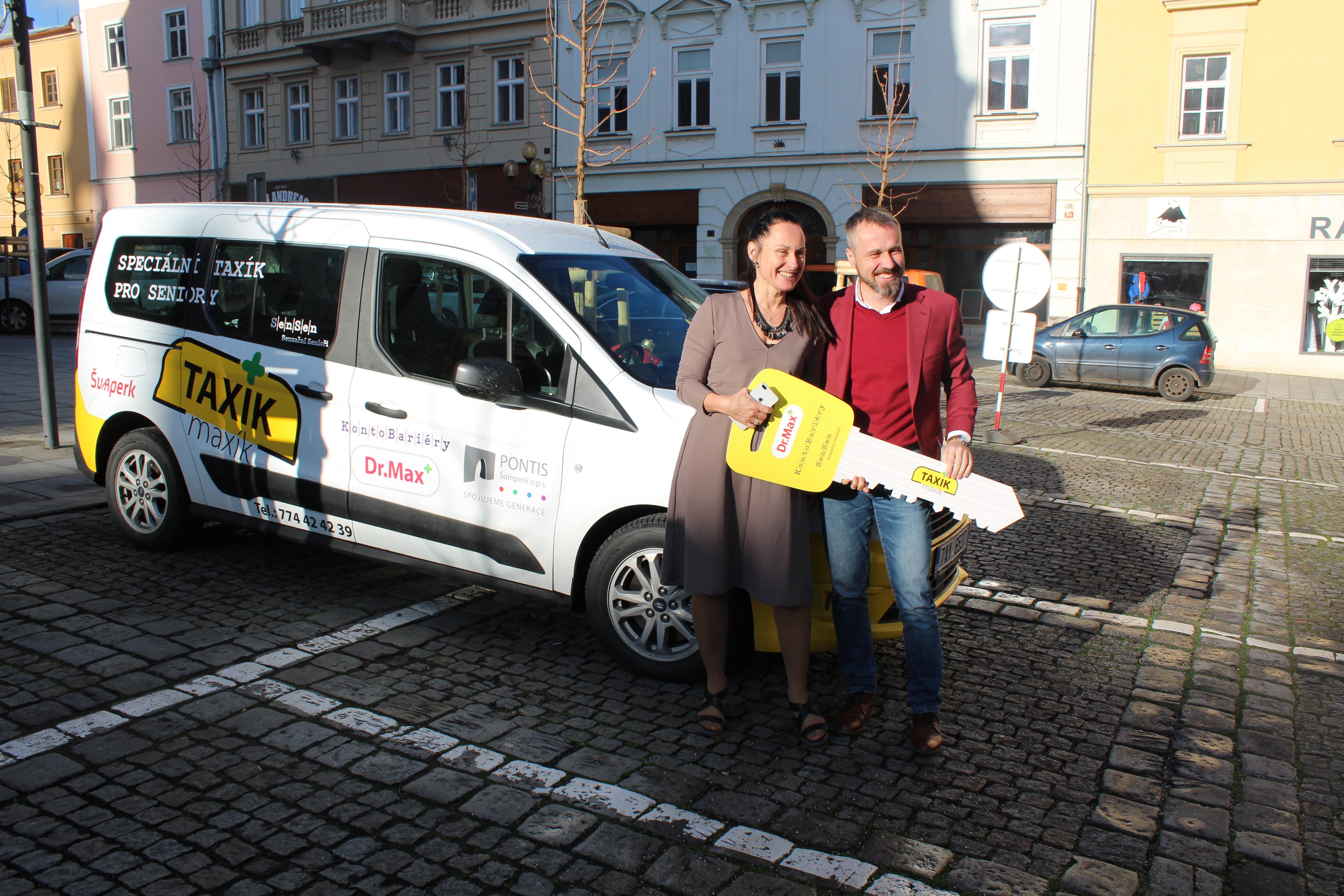 Od ledna bude seniory v Šumperku vozit Taxík Maxík zdroj foto: mus