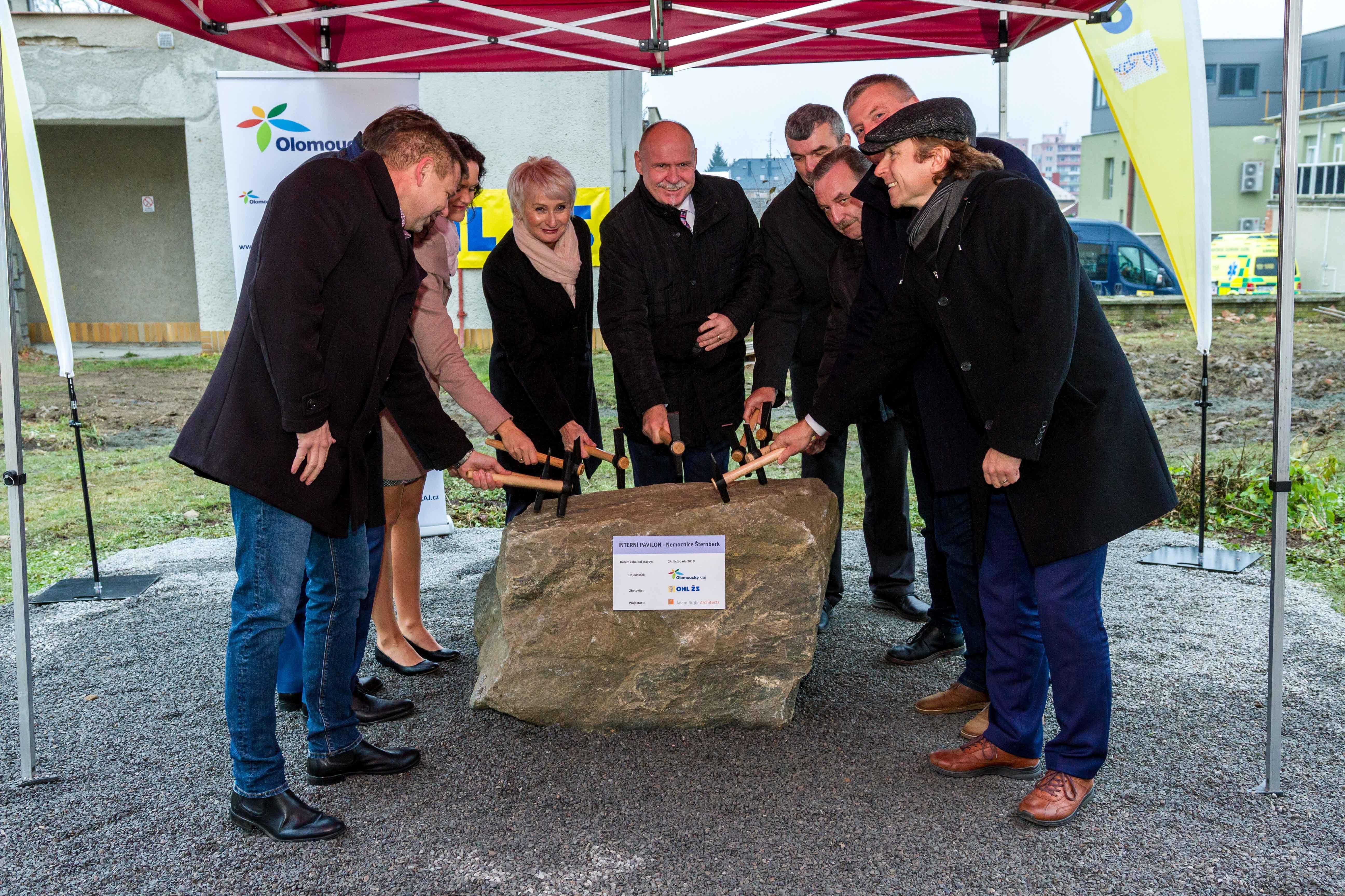 Začala stavba nové interny ve šternberské nemocnici zdroj foto: OLK