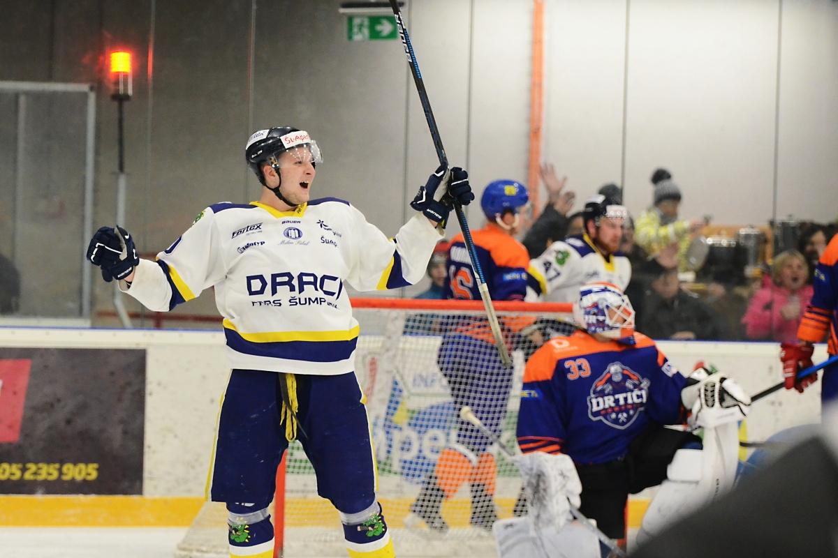 Draci Šumperk vs SHK Hodonín foto: Věra Václavková - Draci Šumperk