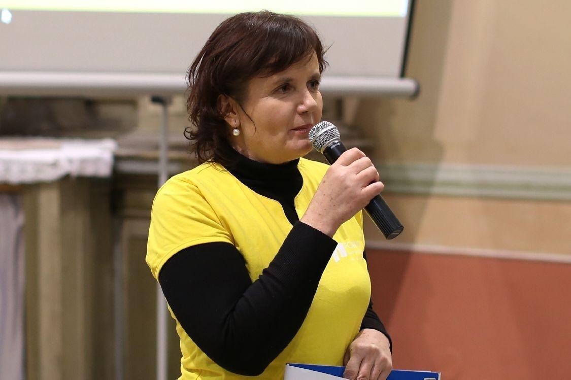 Hana Písková moderuje akci Pontisu zdroj foto: archiv šumpersko.net - M. Jeřábek