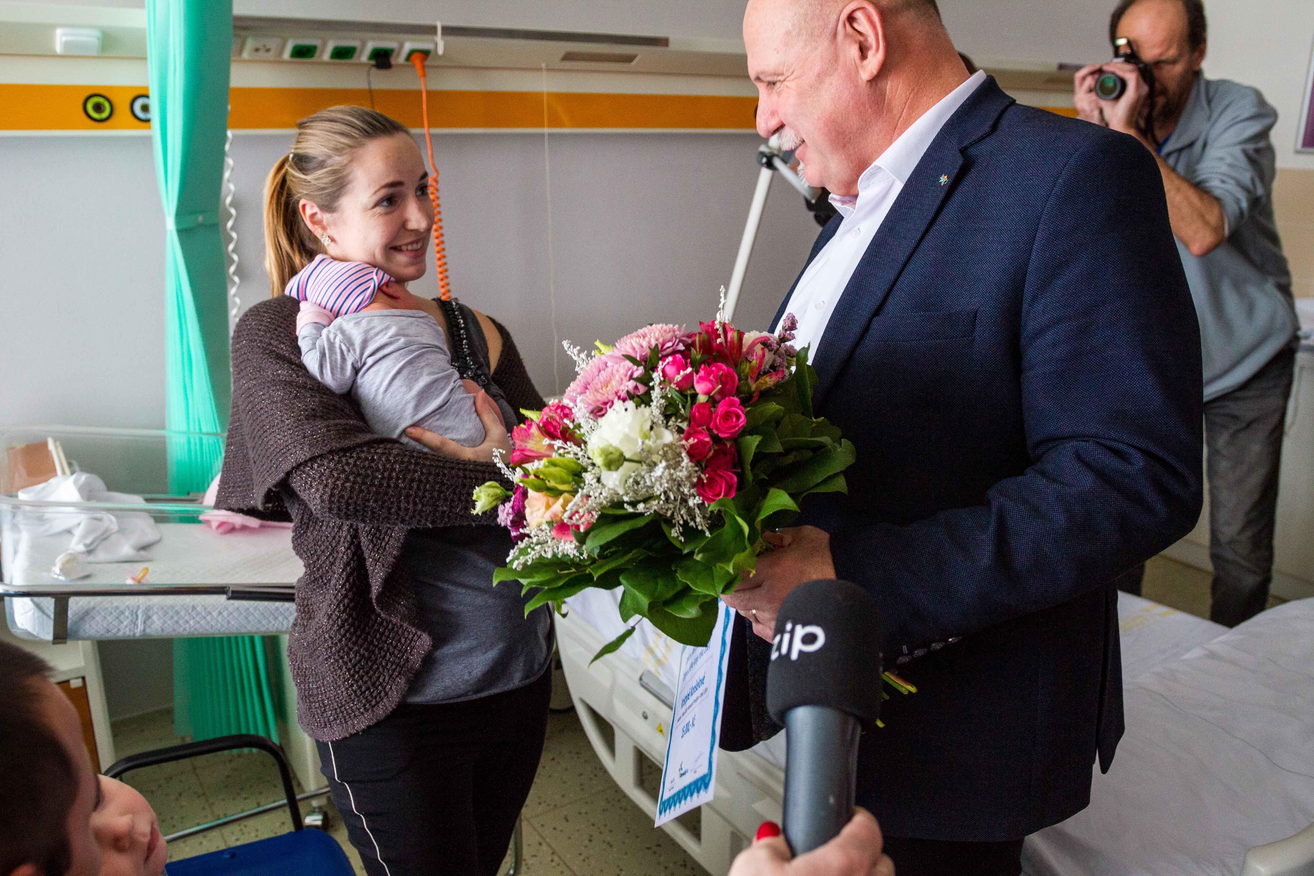 Prvním dítětem roku 2020 Olomouckého kraje je Kristýna z Prostějovska zdroj foto: OLK
