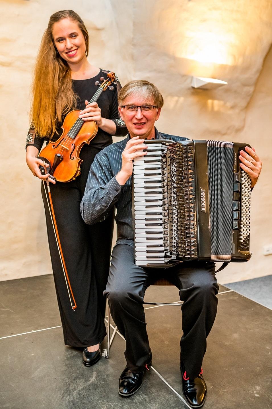 Julie Svěcená a Ladislav Horák zdroj foto: d.k.