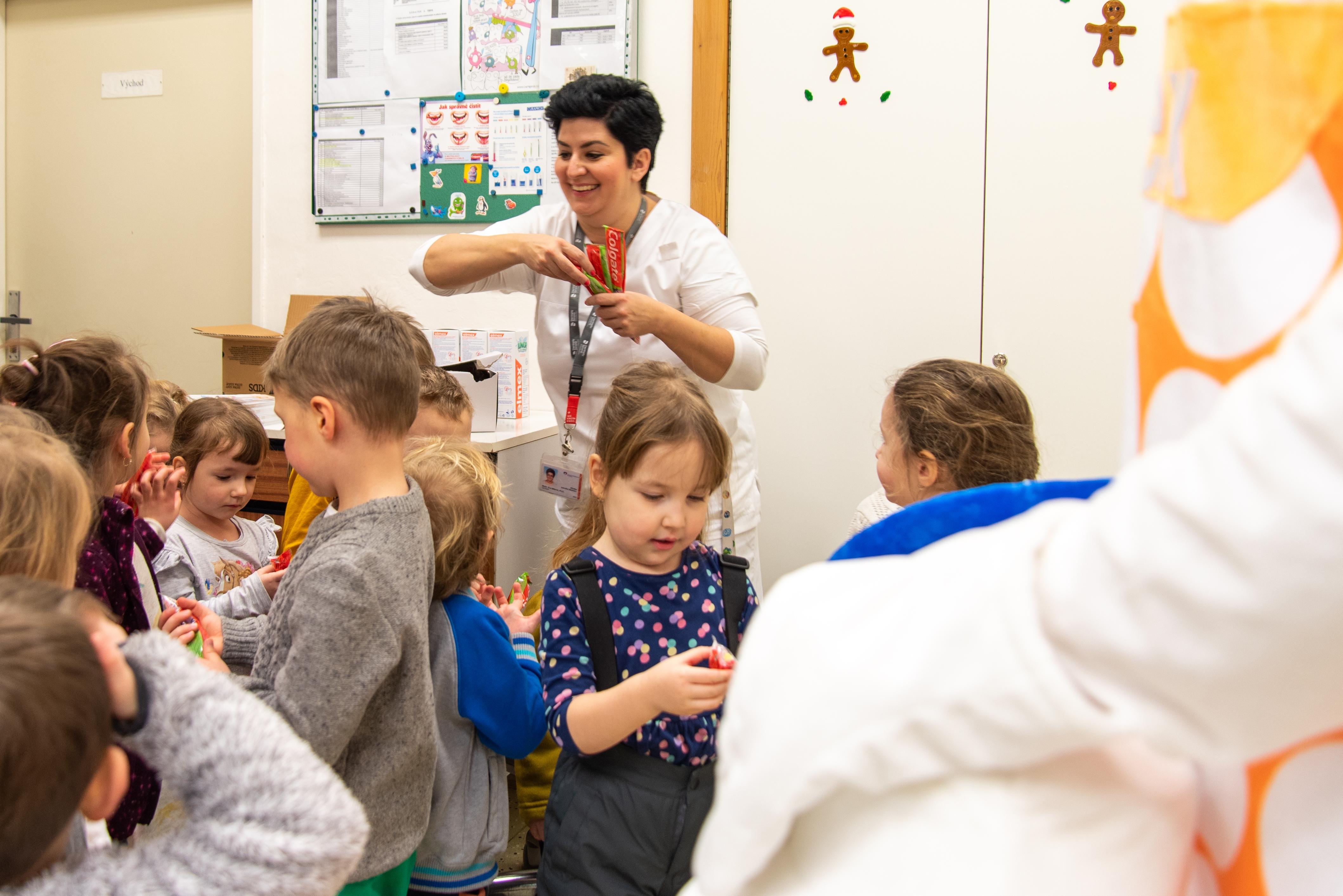 dětského oddělení Kliniky zubního lékařství zdroj foto: FNOL