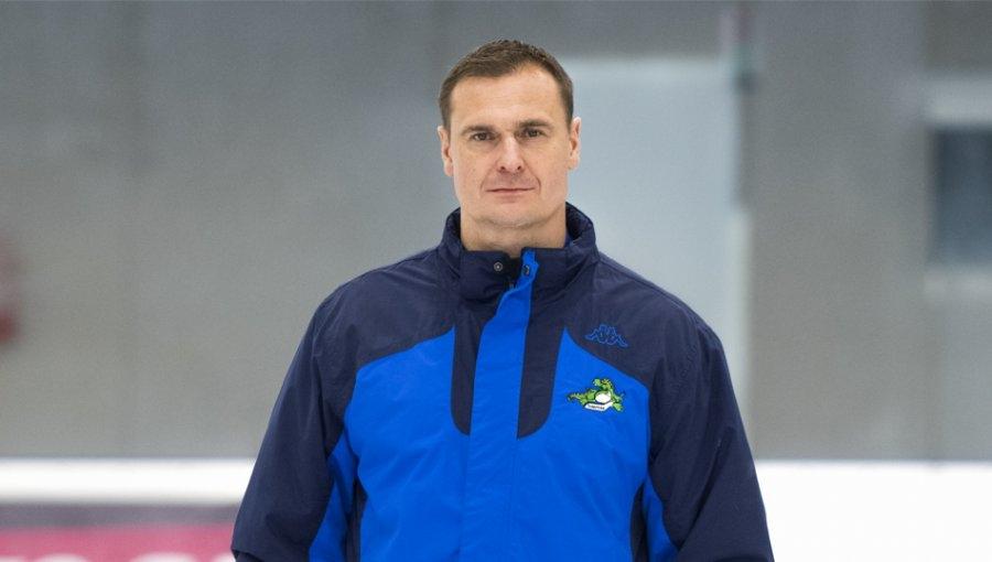 trenér Martin Janeček foto: archiv Draci Šumperk