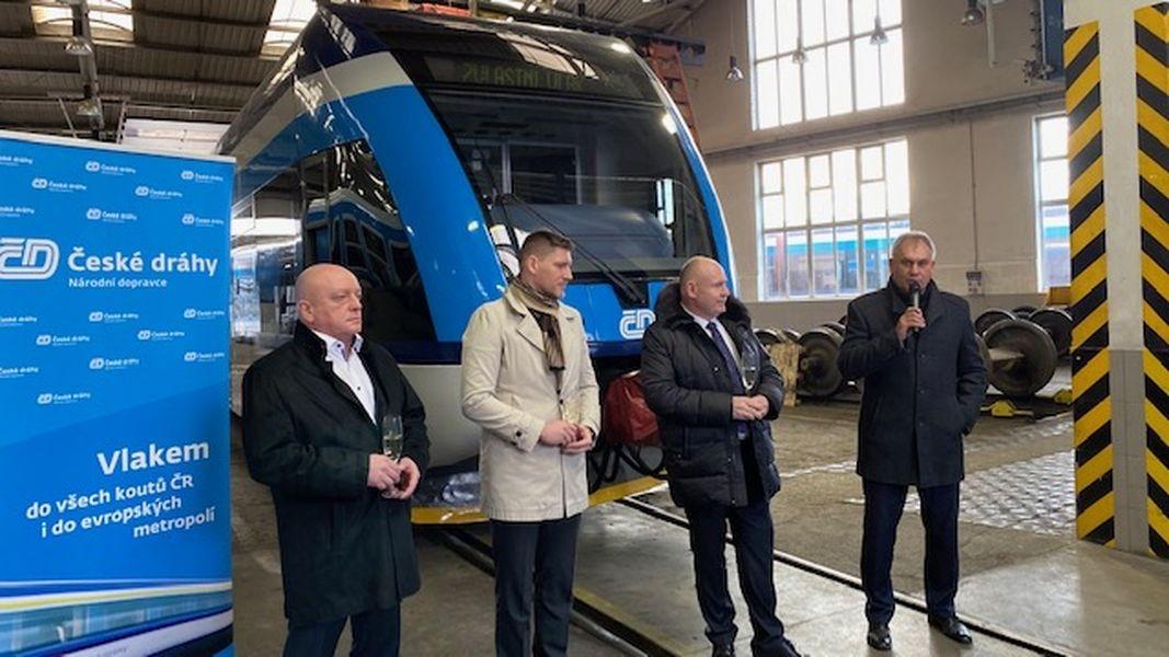 V Olomouckém kraji vyjedou první jednotky Stadler zdroj foto: ČD