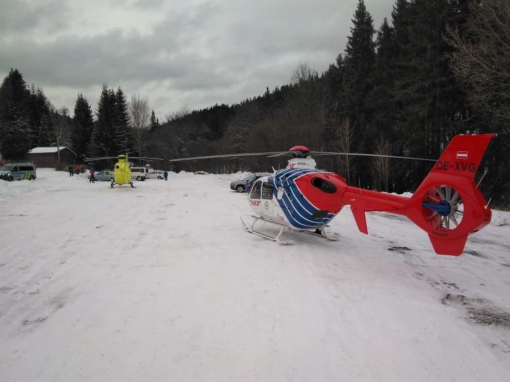 Karlov - zásah záchranářů zdroj foto: HS