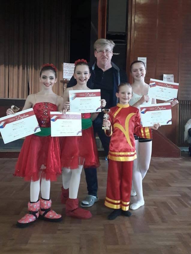 Baletní studio excelovalo v Jihlavě zdroj foto: I. Heger