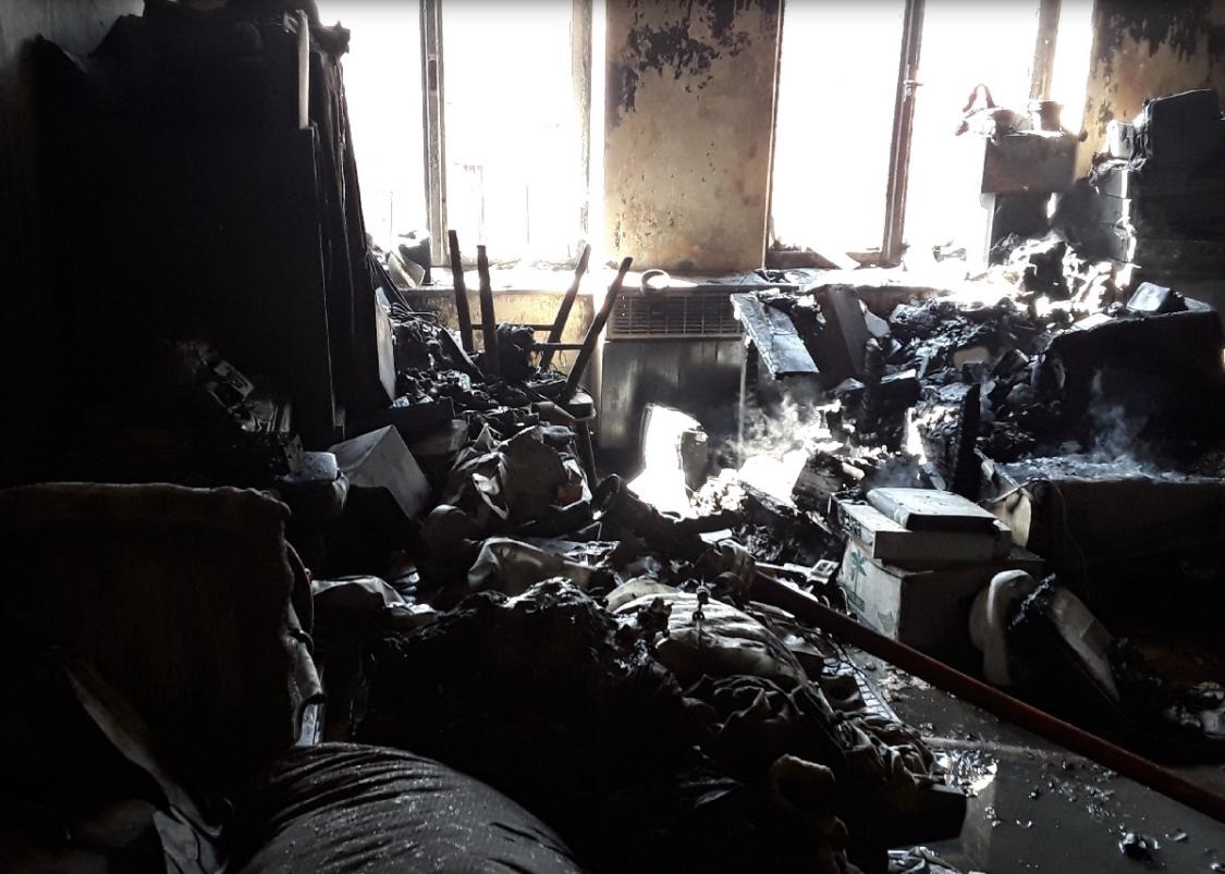 Hasiči likvidovali požár bytu v Jeseníku zdroj foto: HZS OLK