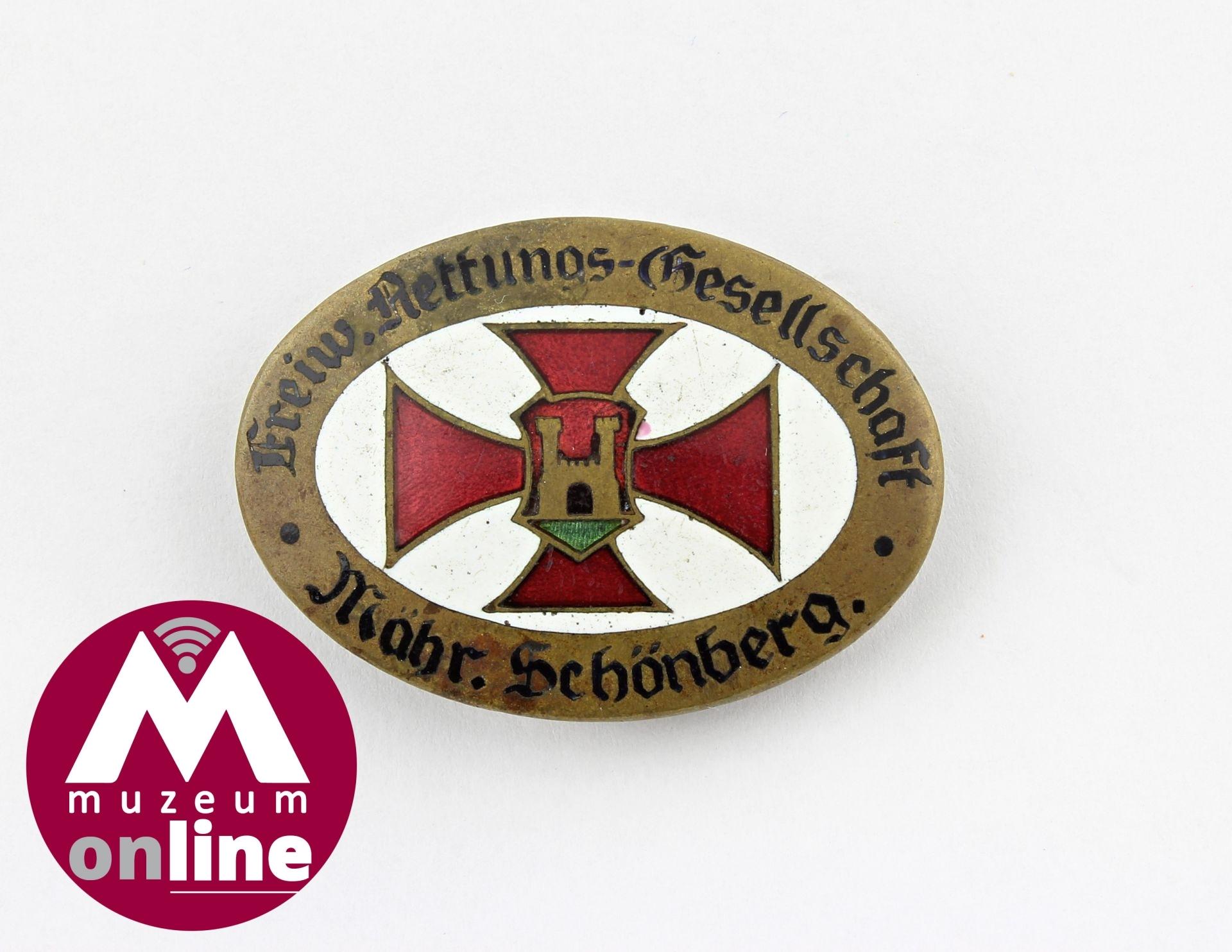 Odznak Dobrovolné záchranné společnosti v Šumperku zdroj foto: VMŠ