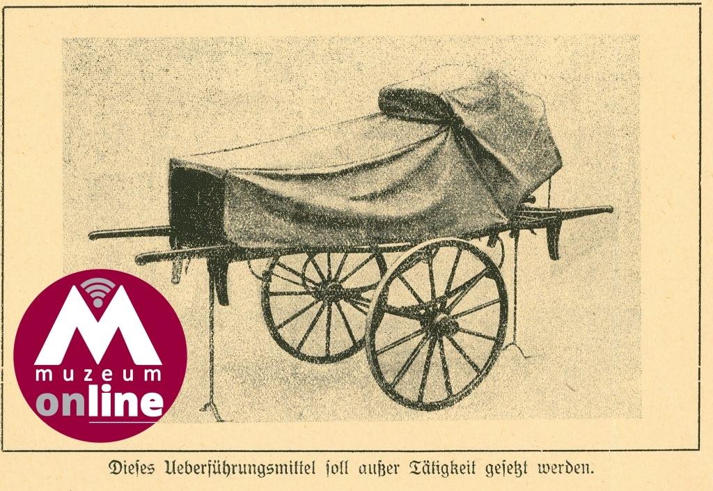 Kolečková nosítka pro přepravu pacientů zdroj foto: VMŠ