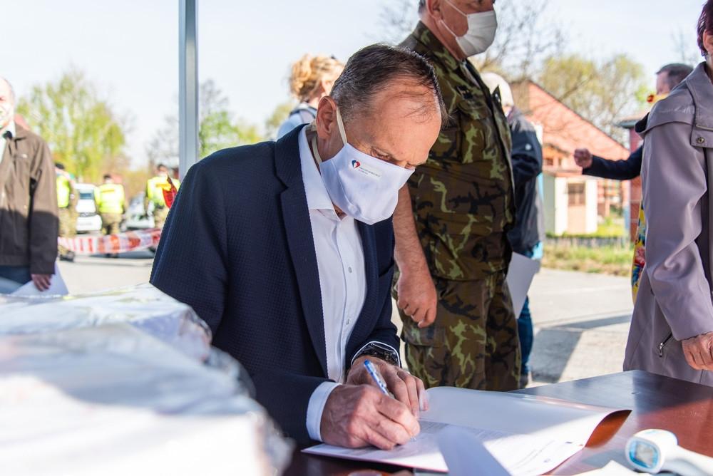plošné testování v Olomouckém kraji zdroj foto: FNOL
