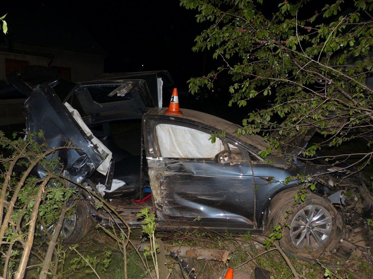 havárie vozidla Bílý Potok zdroj foto: PČR