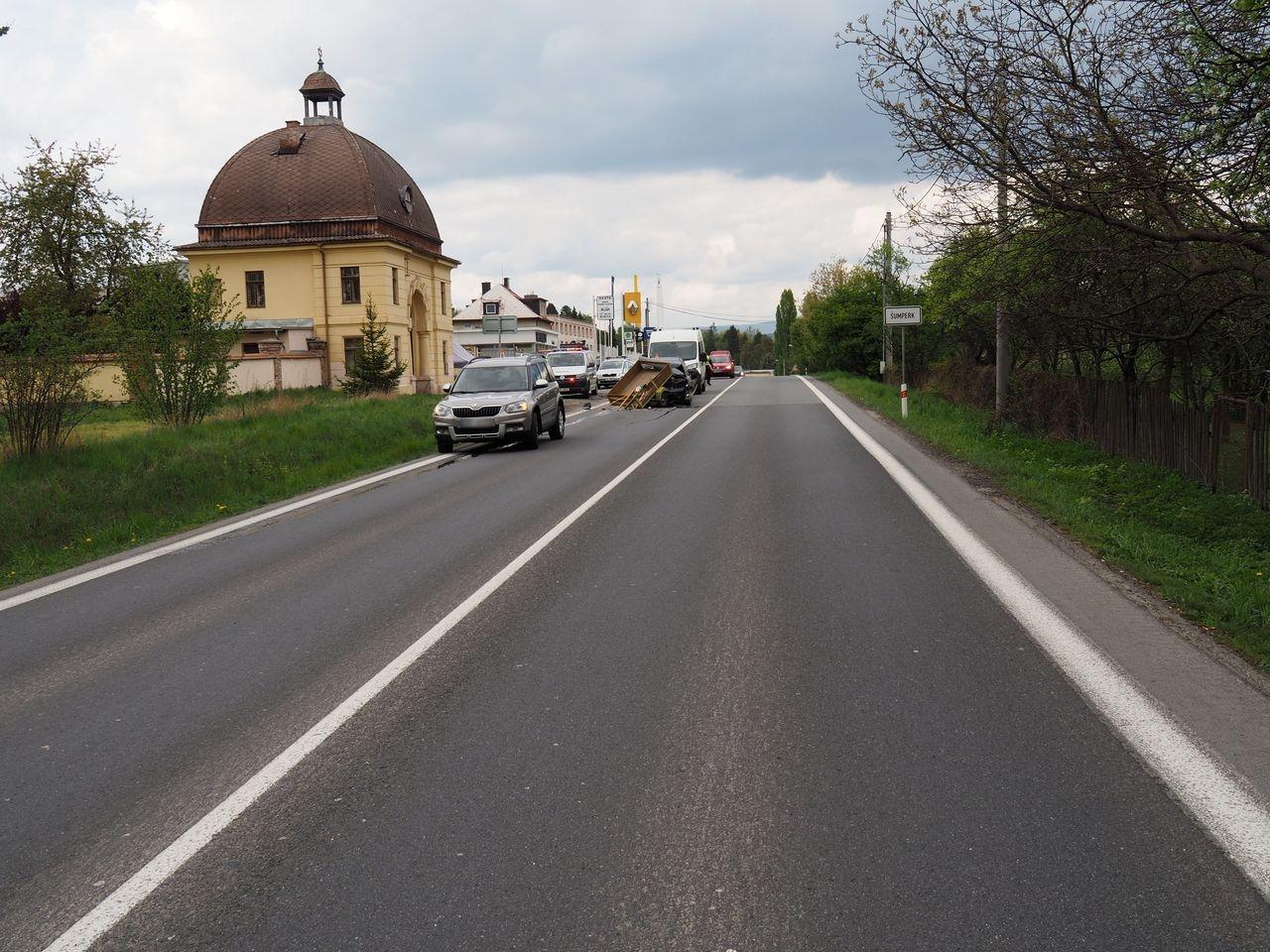 dopravní nehoda Šumpersko zdroj foto: PČR