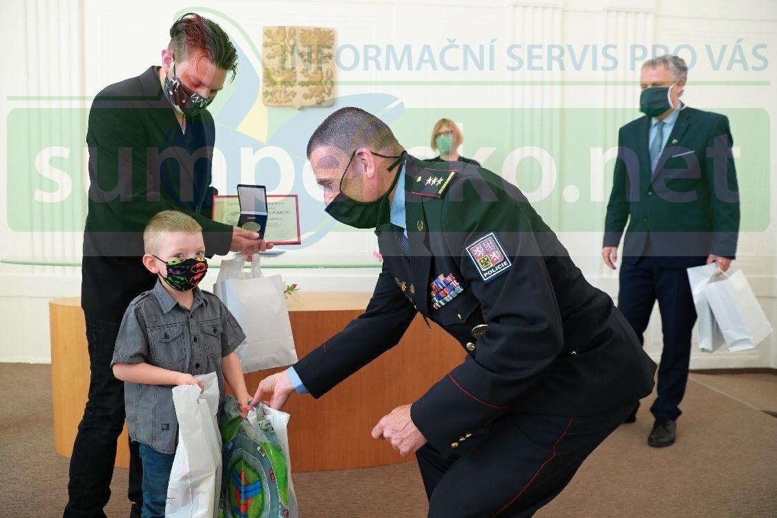 V Šumperku předali ocenění za záchranu lidského života foto: sumpersko.net - M. Jeřábek