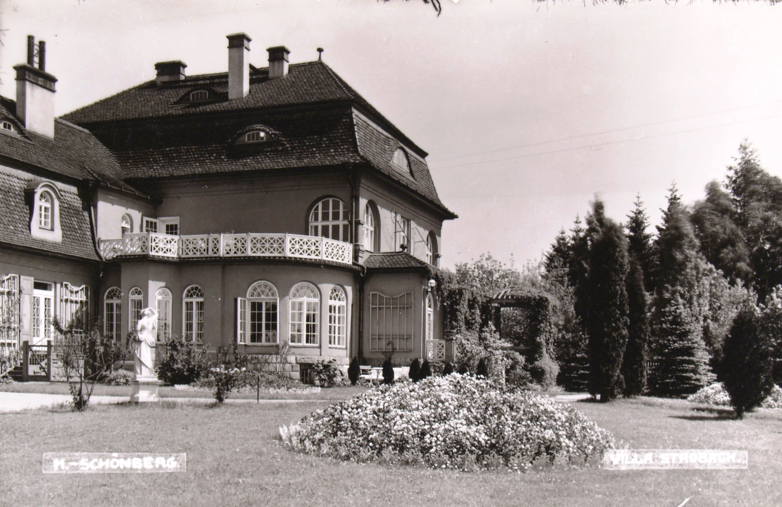 Zdravotní středisko Hany Benešové navrhl Berger jako rodinné sídlo pro svého největšího mecenáše Carla Strobacha, ředitele olšanských papíren. Foto: VM Šumperk.