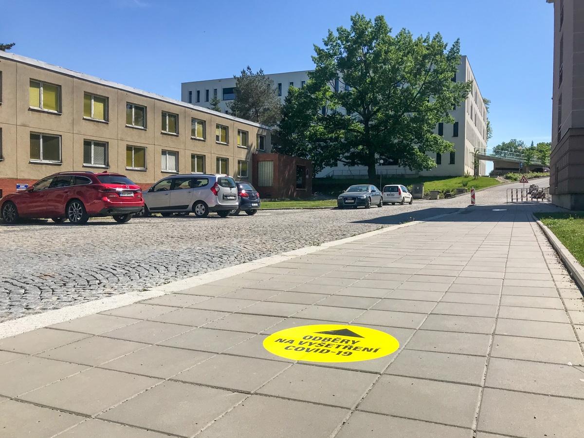Odběrové místo ve FN Olomouc se přestěhovalo zdroj foto:FNOL