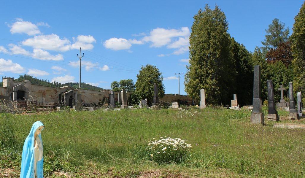 Místo, kde na hlavním hřbitově v Šumperku, v jeho centrální části, vznikne ještě letos vsypová loučka zdroj foto: mus