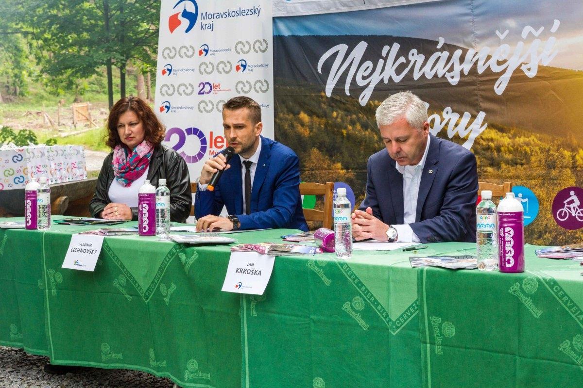 Zapomenutá místa Jeseníků pomůže prozkoumat unikátní síť cyklonabíječek zdroj foto: OLK