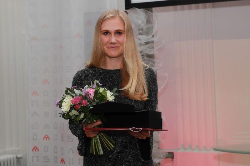 Ceny města Šumperka 2019 - Tereza Chaloupková foto: M. Jeřábek - sumpersko.net