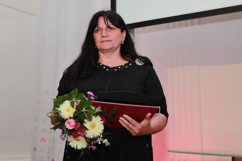 Ceny města Šumperka 2019 - Kamila Šeligová foto: M. Jeřábek - sumpersko.net