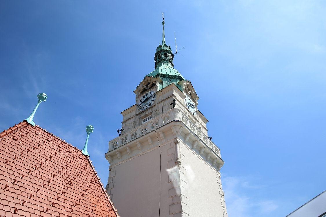 Šumperk - radniční věž foto: archiv sumpersko.net