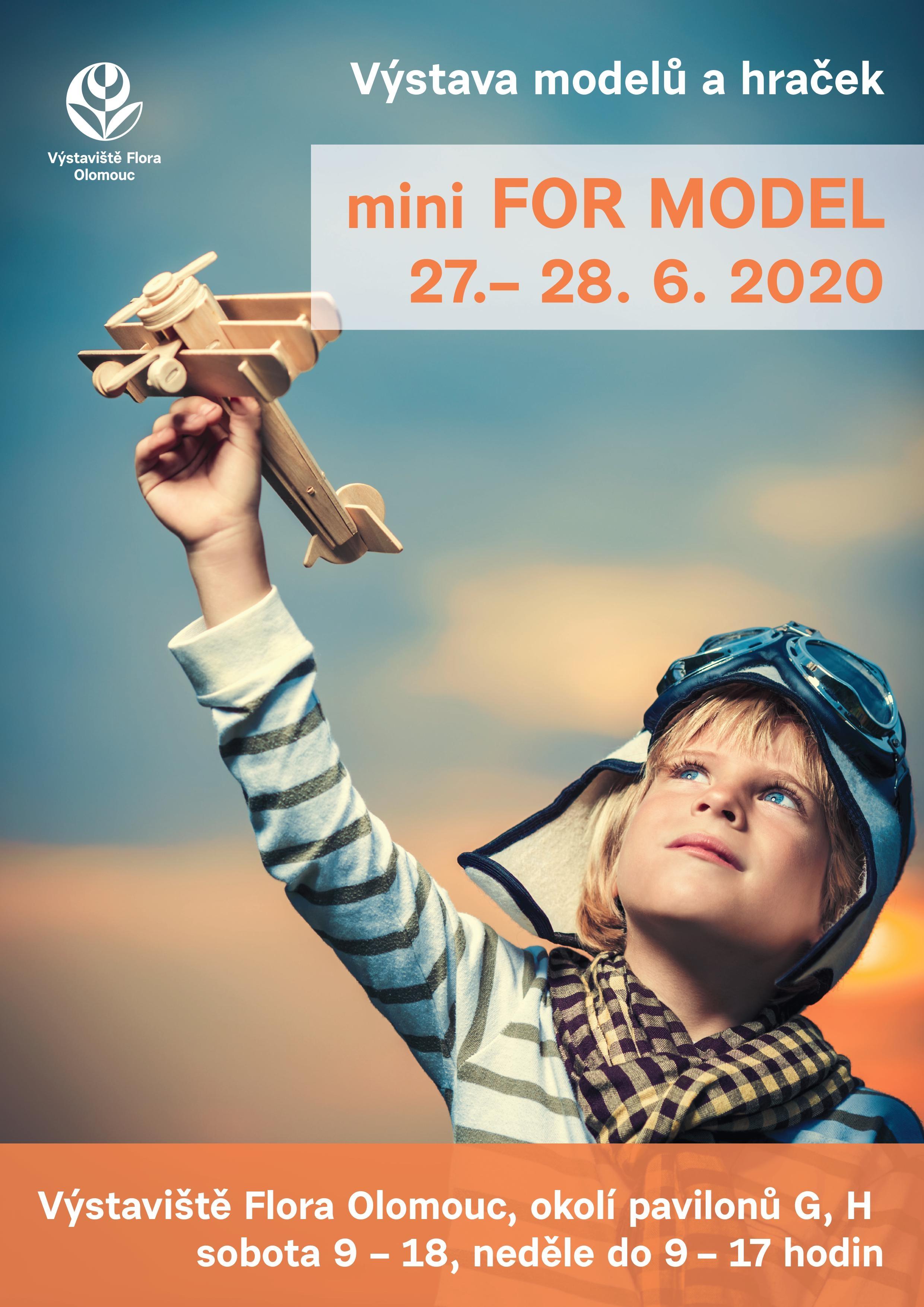 mini FOR MODEL plakát zdroj: K. Buchtová