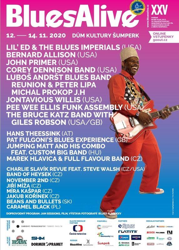 Blues Alive 2020 - pozvánka