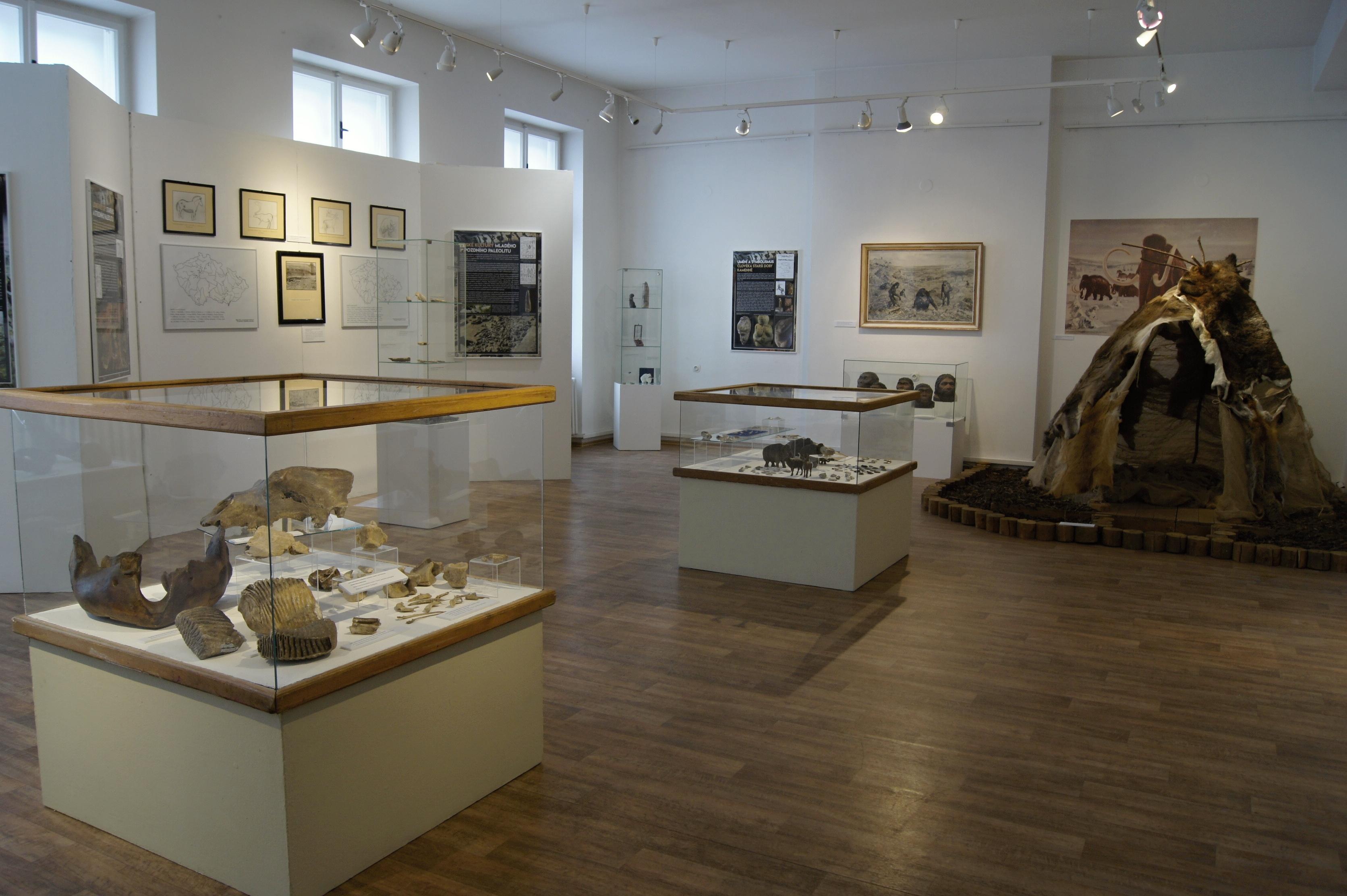 pozvánka na výstavu Čas lovců a sběračů zdroj foto: VMŠ