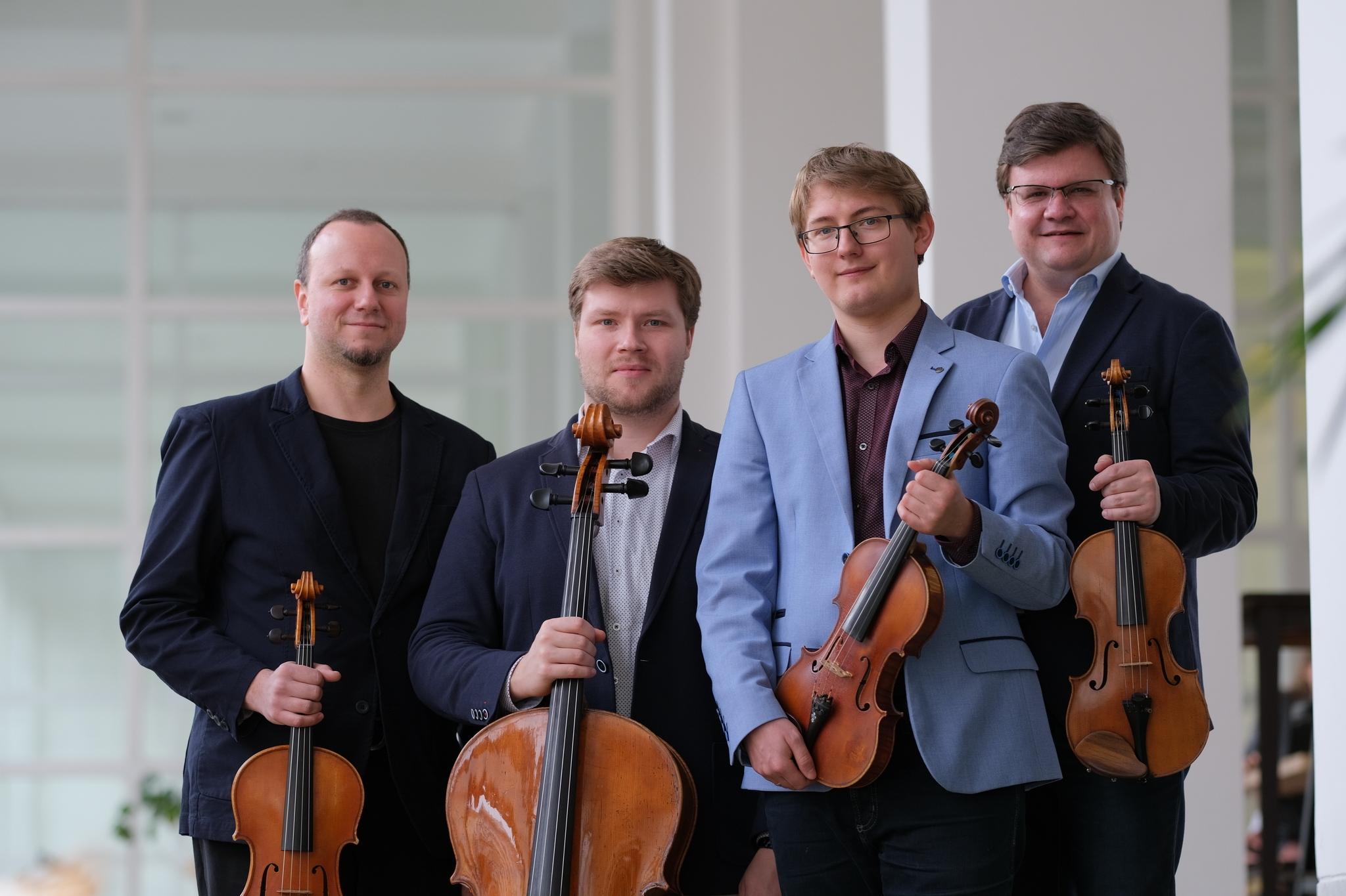 Doležalovo Kvarteto zdroj foto:KHS - Ondřej Melecký