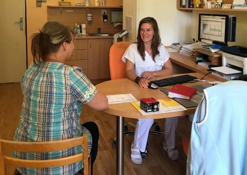 Nutriční poradnu Nemocnice AGEL Jeseník vede Mgr. Eva Veličková Hvorecká zdroj foto: R. Miloševská - Agel