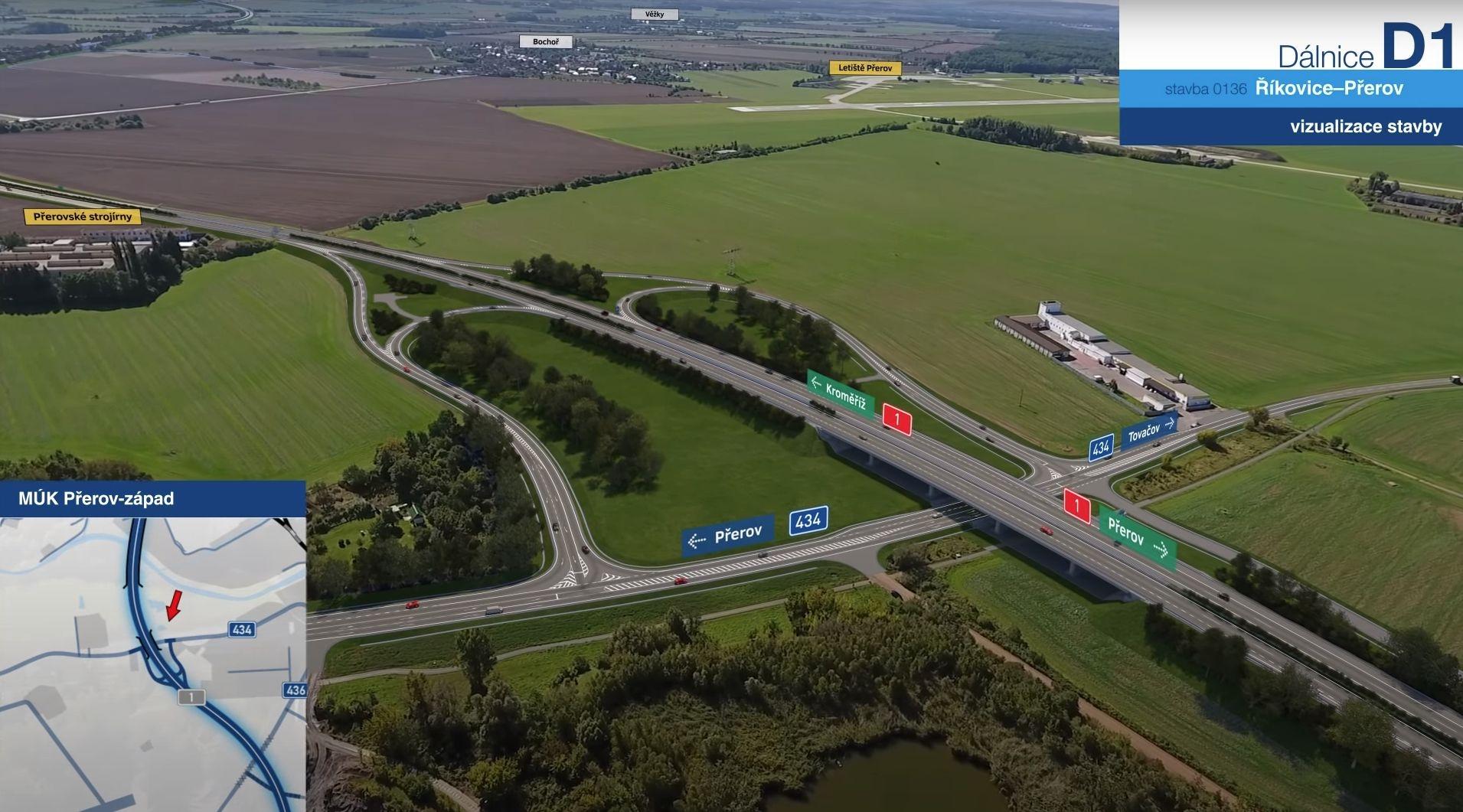 dostavba dálnice D1 zdroj: MD