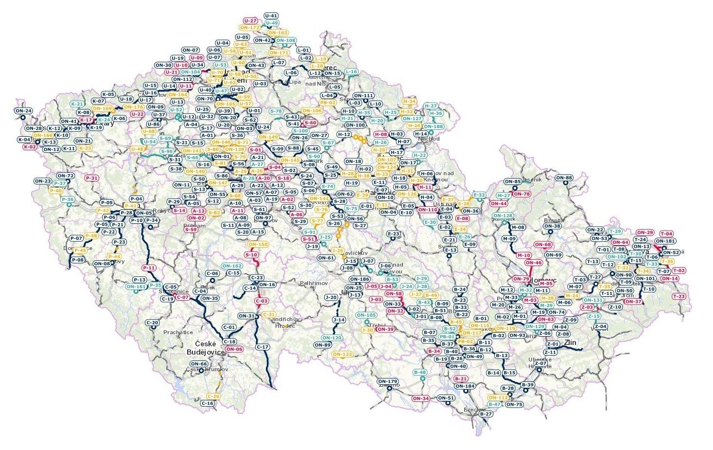 mapa zdroj: SŽ