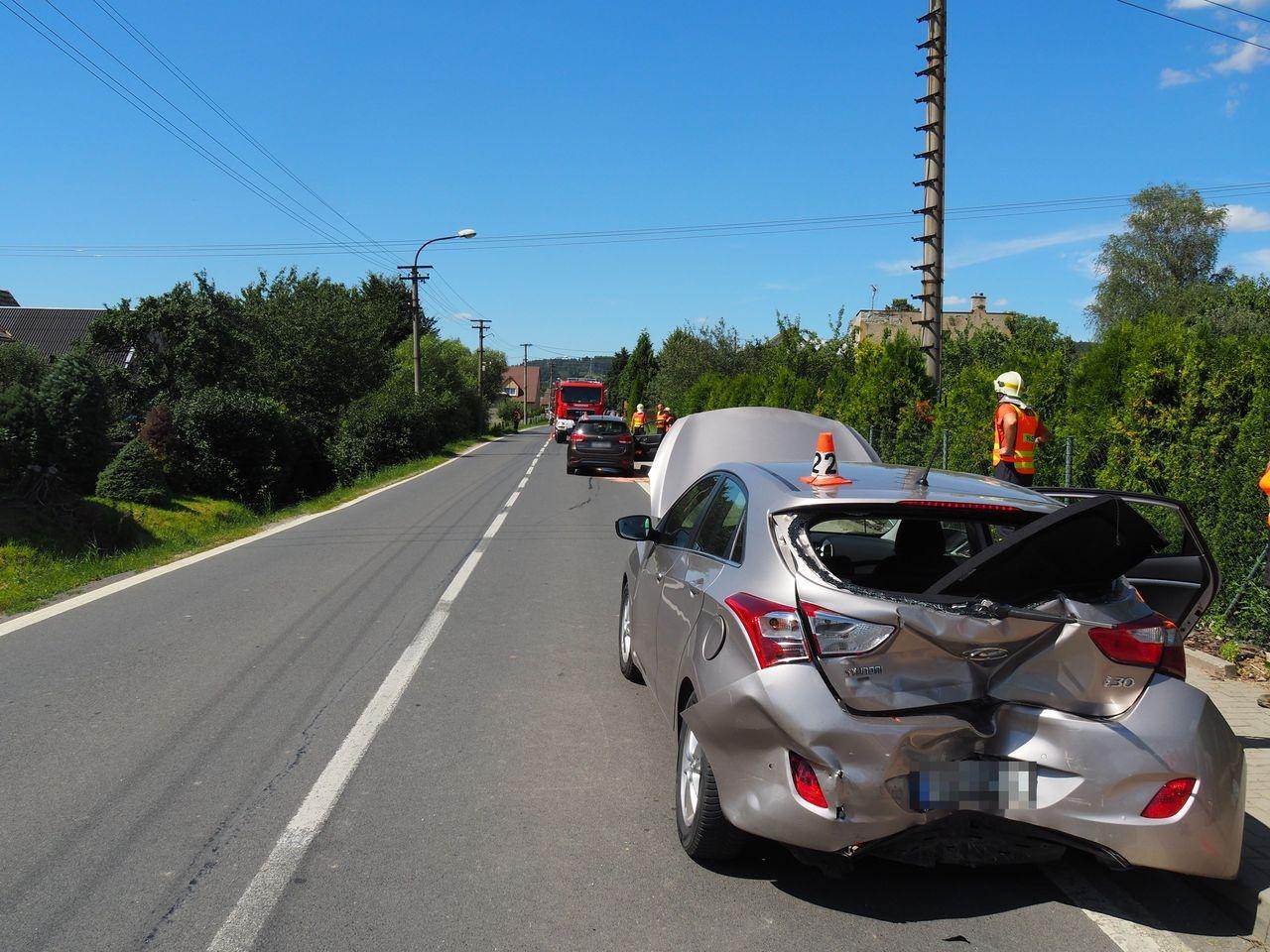 dopravní nehoda v Libině zdroj foto: PČR