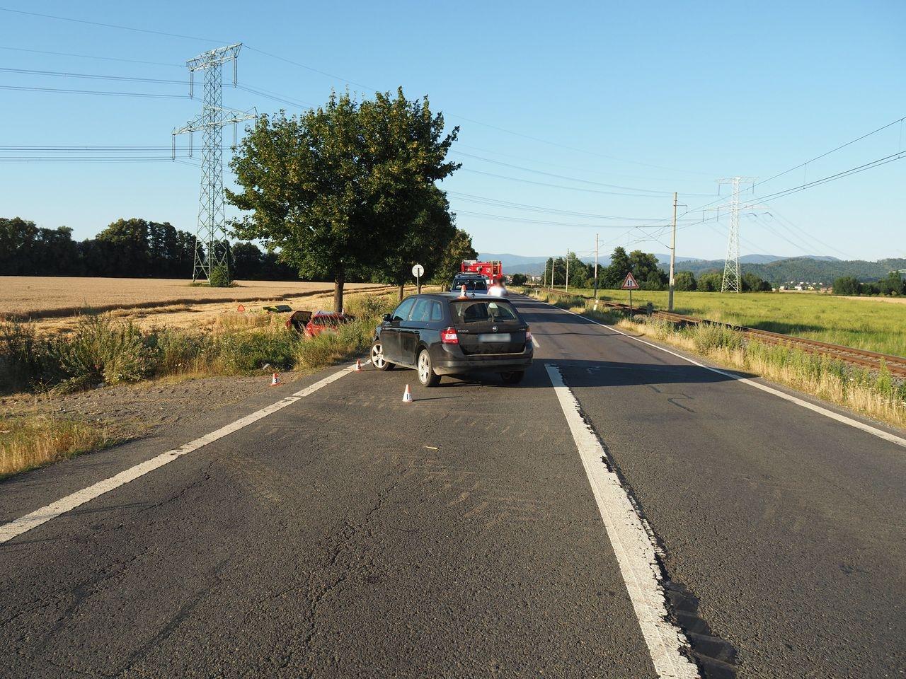 dopravní nehoda mezi Zábřehem a Postřelmovem zdroj foto: PČR