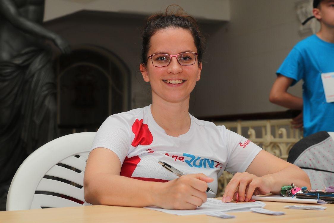 Olga Hajduková povede registrační úsek zdroj foto: archiv sumpersko.net