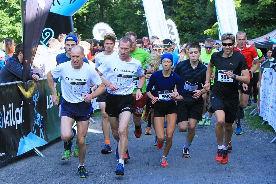 start kategorie Short s ambasadorem Pavlem Brýdlem (vpravo) zdroj foto: Patrik Pátek/PatRESS.cz