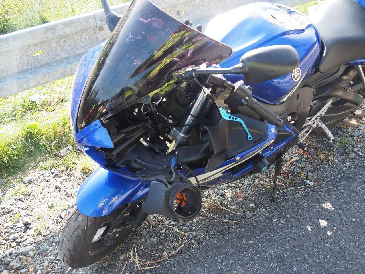 Střet motorkářů na Červenohorském sedle zdroj foto: PČR
