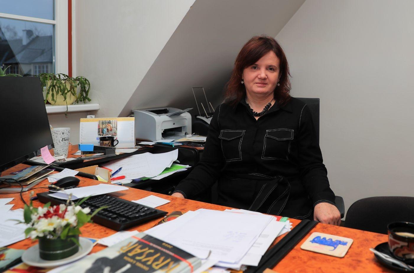 ředitelka domu kultury Hana Písková foto: archiv sumpersko.net - M. Jeřábek