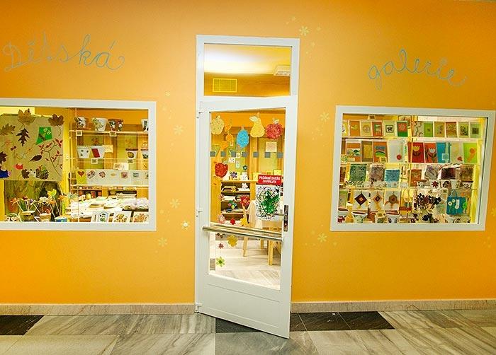 Dětská galerie provozovaná sdružením Šance Olomouc zdroj foto: FNOL