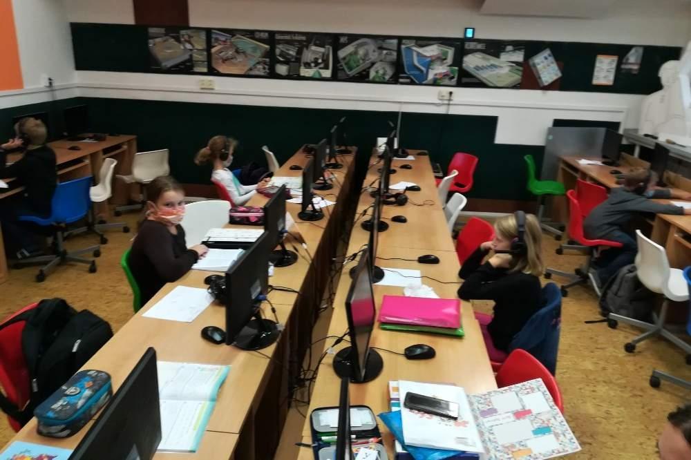 Pětka je v Šumperku známá jako škola s rozšířenou výukou informatiky zdroj foto: V.ZŠ