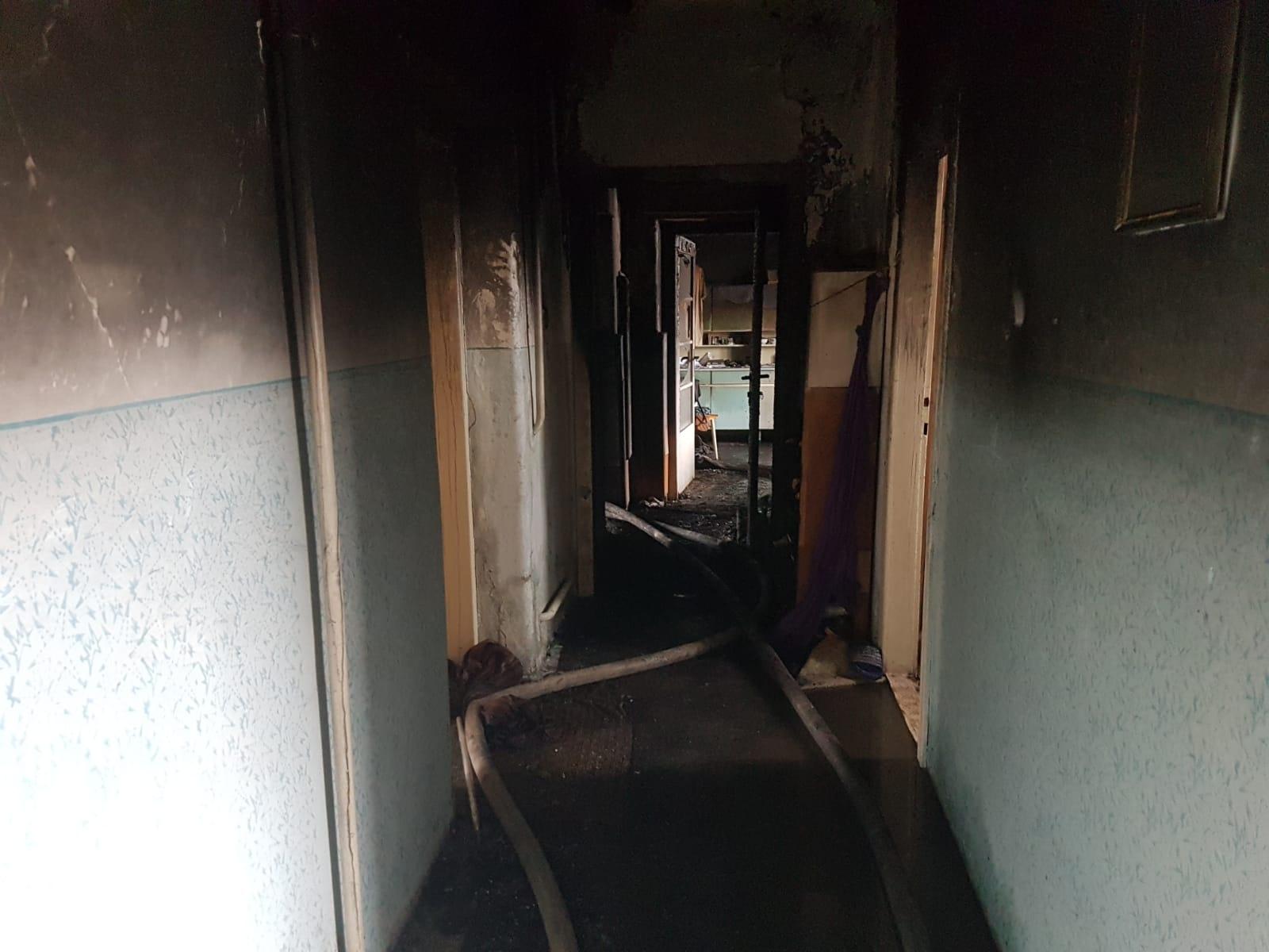 Loštice - požár rodinného domu zdroj foto: HZS OLK