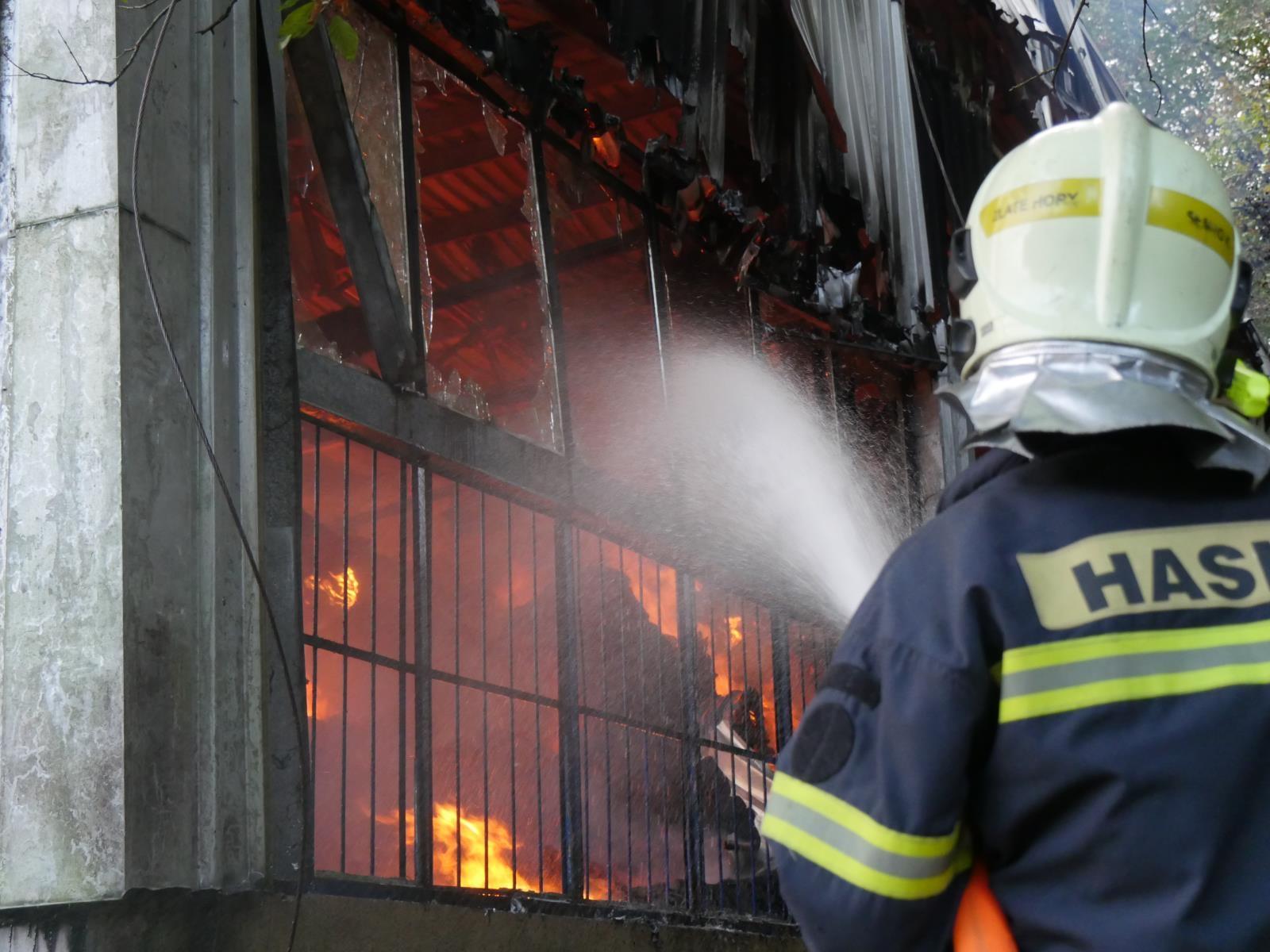 zásah hasičů v roce 2020 zdroj foto: HZS OLK