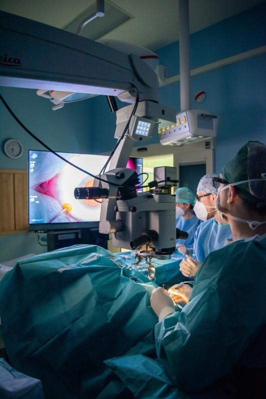 Oční klinika FN Olomouc využívá nejmodernější operační systém zdroj foto:FNOL