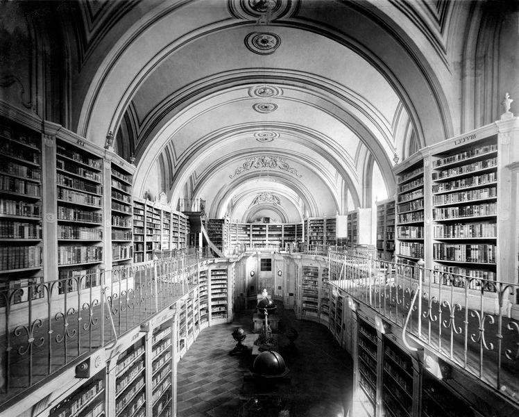 Bibliotéka zdroj foto: archiv VMO