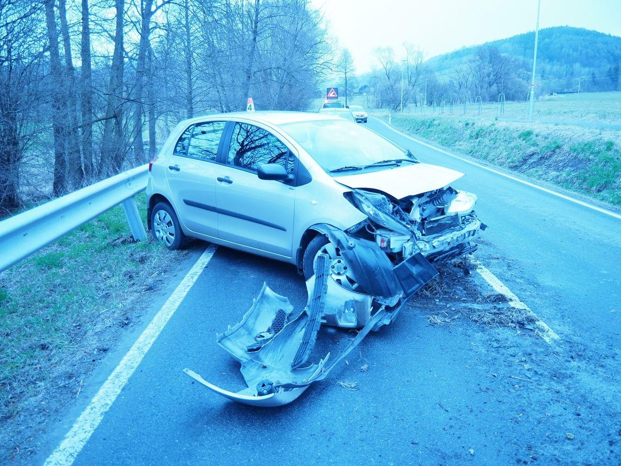 havárie mezi Šumperkem a Bratrušovem zdroj foto: PČR