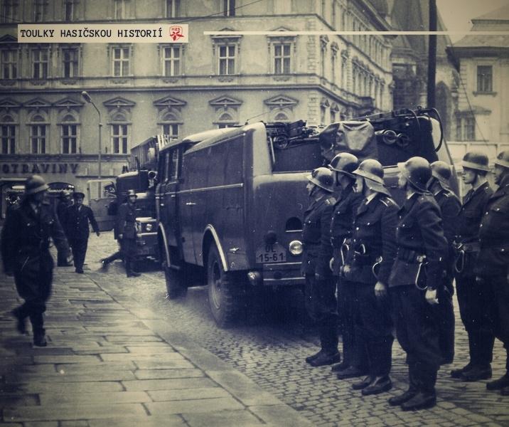 Toulky hasičskou historií zdroj foto: HZS OLK