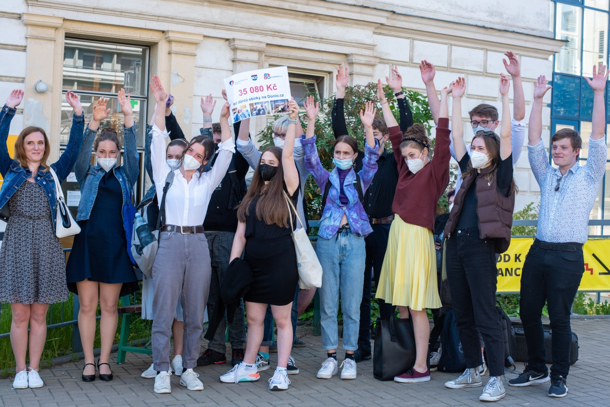 Benefice studentů podpořila canisterapii ve FN Olomouc zdroj foto: FNOL